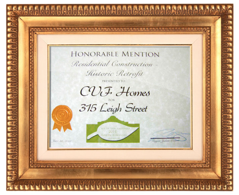 2011 Green Building Award
