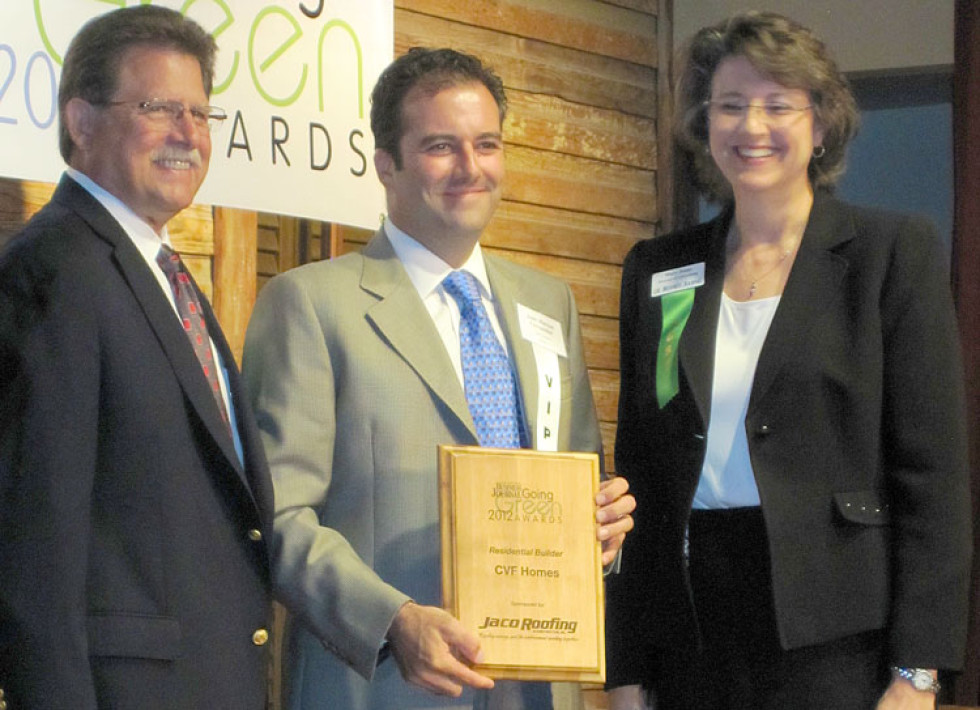 Winner of 2012 San Antonio Business Journal Going Green Awards